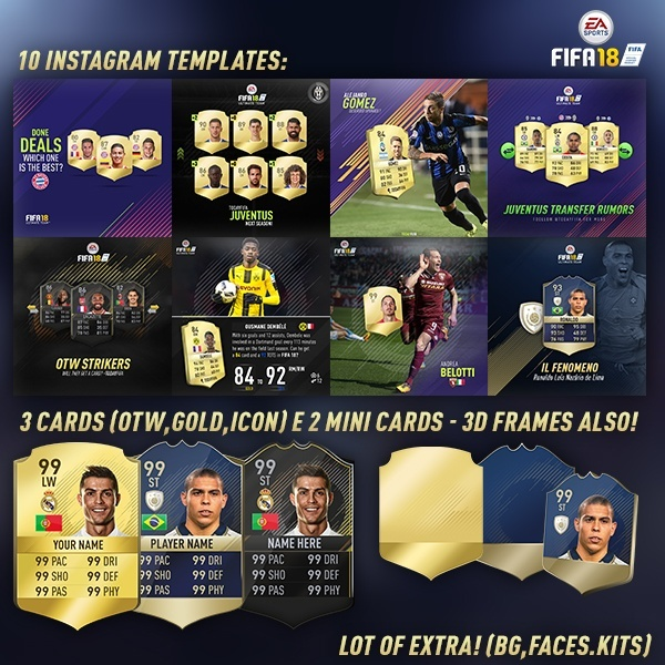 Fifa 18 Mega instagram pack!