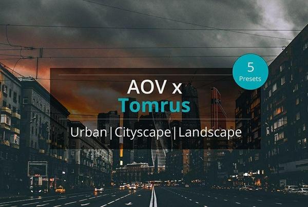 AOV x Tomrus Lightroom Presets
