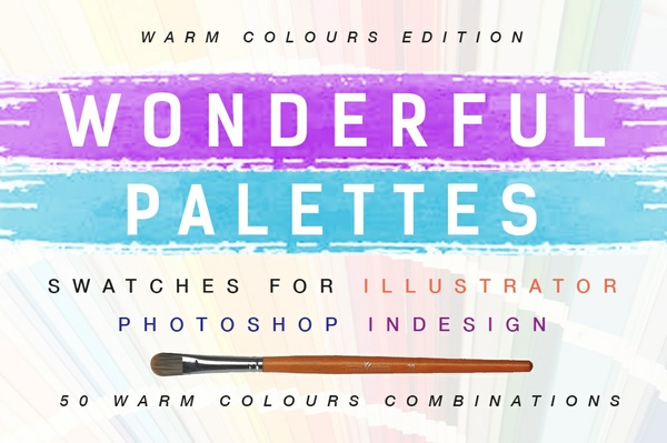 Wonderful Palettes - Swatches for Illustrator, Photoshop and Indesign