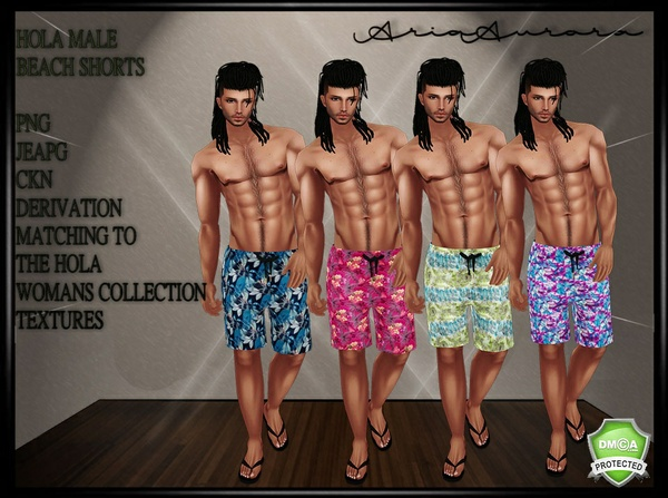 HOLA MALE COLLECTION,NO RESELL!!