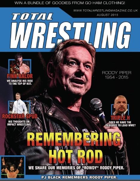 Total Wrestling Magazine August 2015