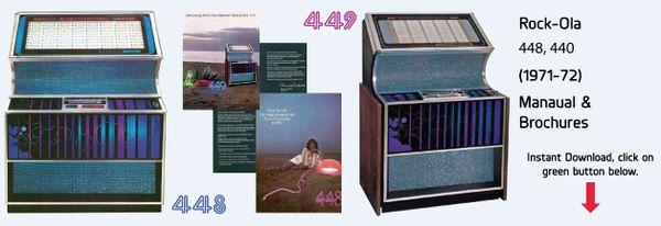"Rock-Ola 448 ""Musical Mint"" 449 ""Luxury Compact"" (1971-72)"