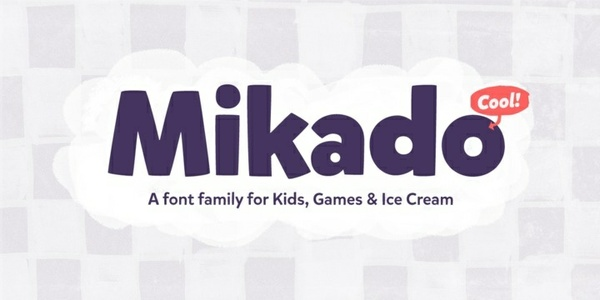 Mikado OTF Complete Font Family - 12 Fonts