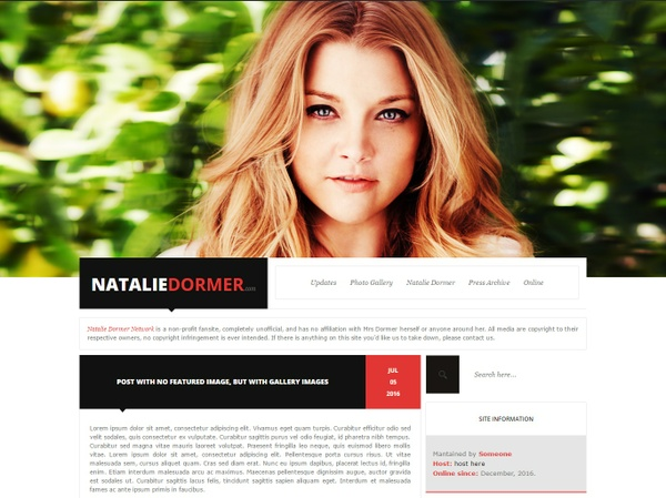 Wordpress Premade #1 by DC Design