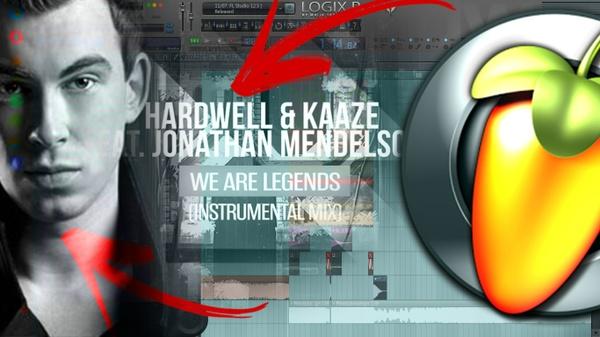 Hardwell, KAAZE & Jonathan Mendelsohn - We Are Legends (FL STUDIO REMAKE)