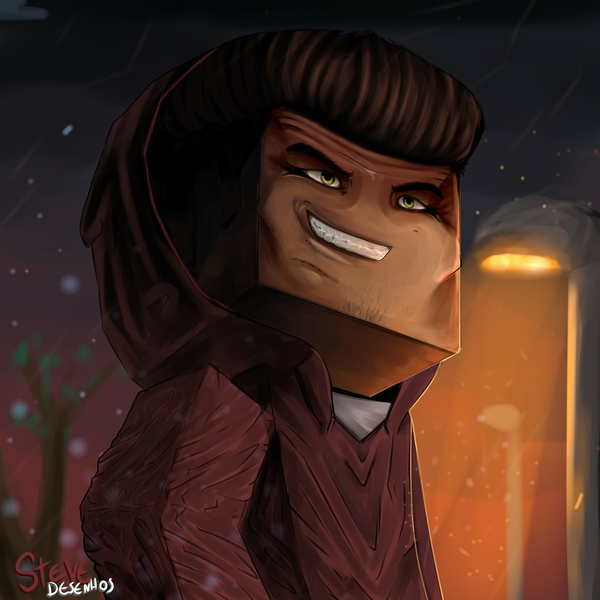 Cartoon avatar minecraft Advanced EURO-DOLLAR (PERSONALIZADO)