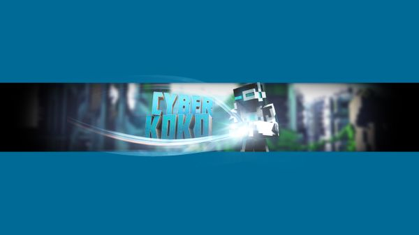 Minecraft Channel Banner