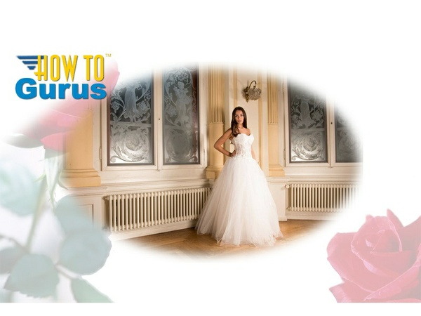 How to create Vignettes & Masks for Wedding photography in Photoshop Elements 11 12 13 14 Tutorial
