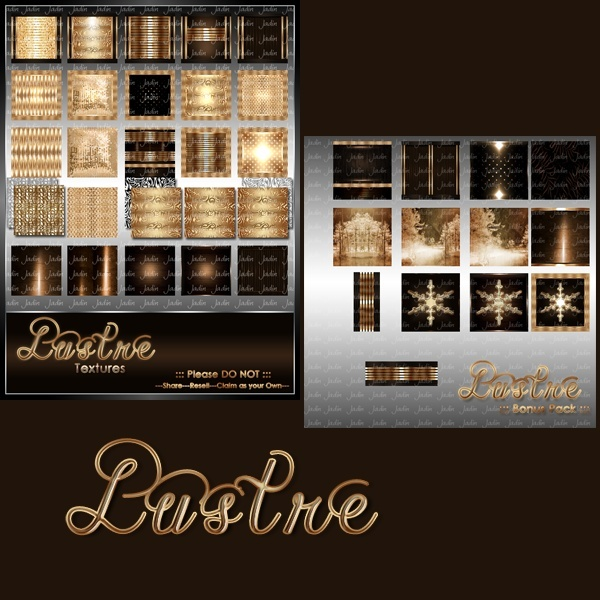 Lustre Texture Pack-- $5.00