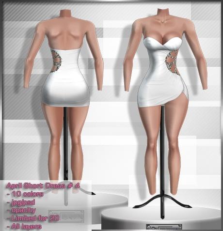 2014 Apr Short Dress # 4