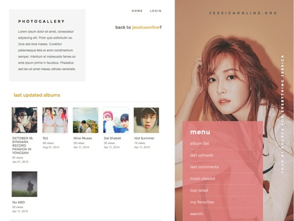 Coppermine / Premium Theme #05