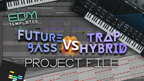 Ableton Live Future Bass - Trap Hybrid Template 30.10