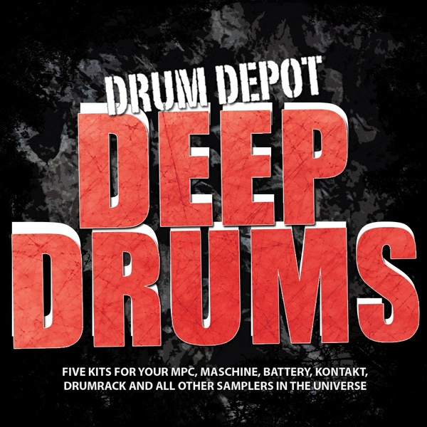 Drum Depot: Deep Drums - 6 drumkits for Deephouse, Trance & Minimal