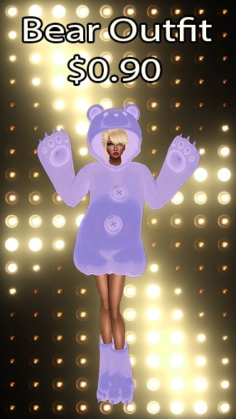 Bear Outfit v19 Texture