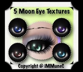 5 Moon Eye Textures