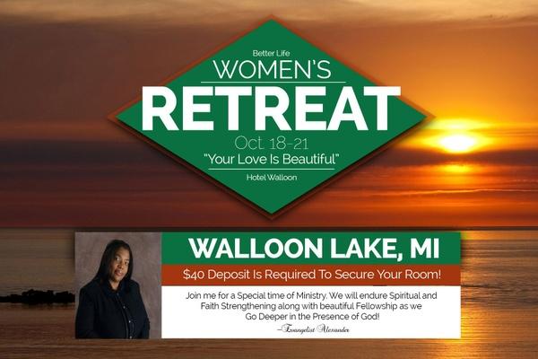 Better Life Women's Retreat Deposit