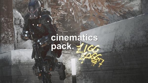 Zigg Zagg #7 - Cinematics Pack