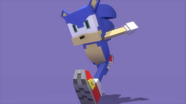 Minecraft Sonic Rig