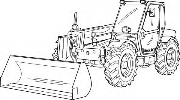 Bobcat V723 VersaHANDLER Service Repair Manual Download(S/N A8HL11001 & Above ...)