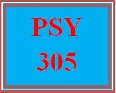 PSY 305 Week 2 APA Guidelines