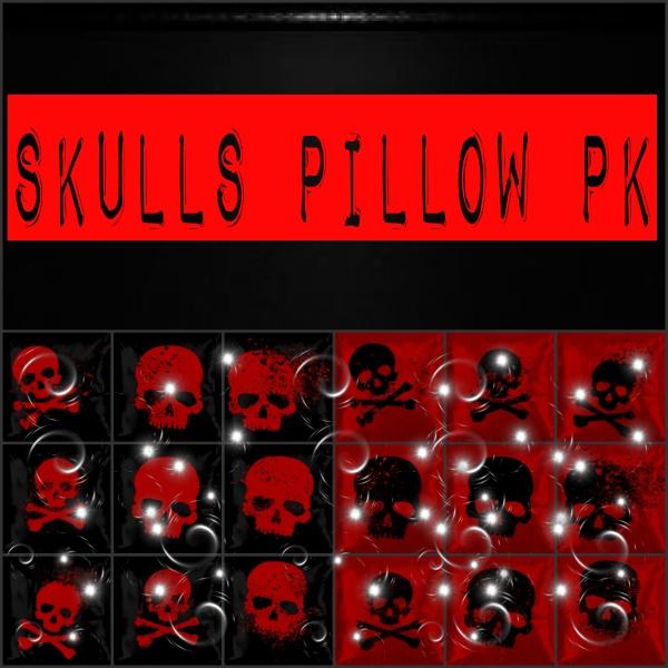 Skullz Pillows