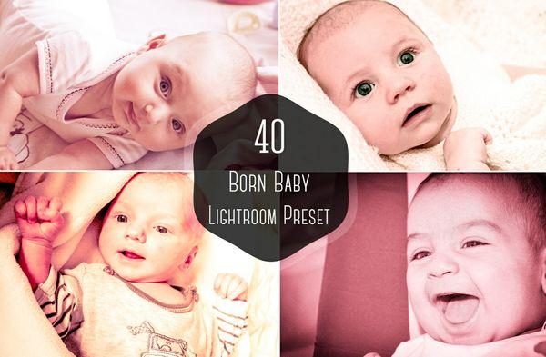 40 Born Baby Lightroom Presest