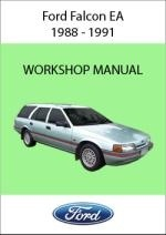 Ford Falcon and Fairmont EA EB ED NA NC DA DC 1988-1991 Workshop Service Repair Manual