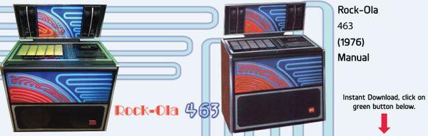 Rock-Ola Model 463   (1976)  Manual