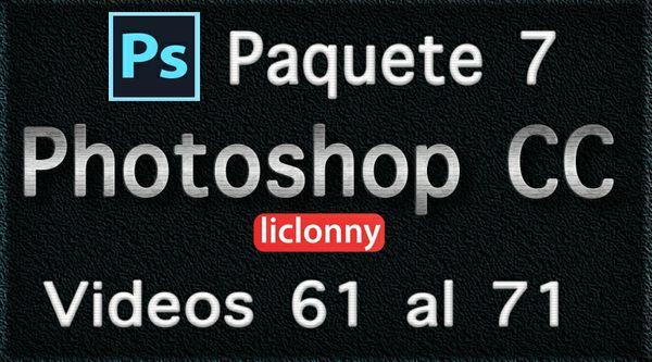 Photoshop CC. Capítulo 14 Paquete 7