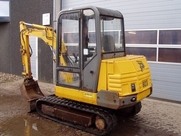 JCB 802.7, 803, 804 Mini Crawler Excavator Service Repair Workshop Manual DOWNLOAD