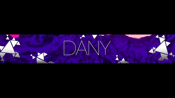 Professional 2D Youtube Banner