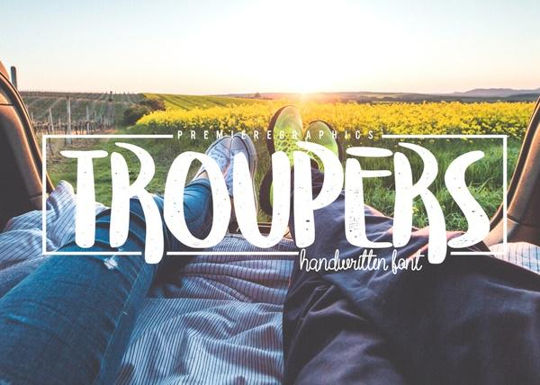 Troupers Font