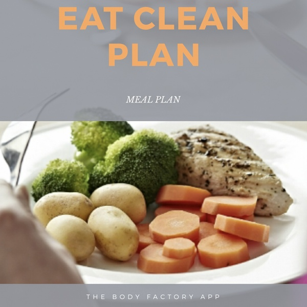 EAT CLEAN PLAN