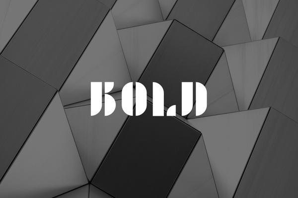 BOLD - Typeface