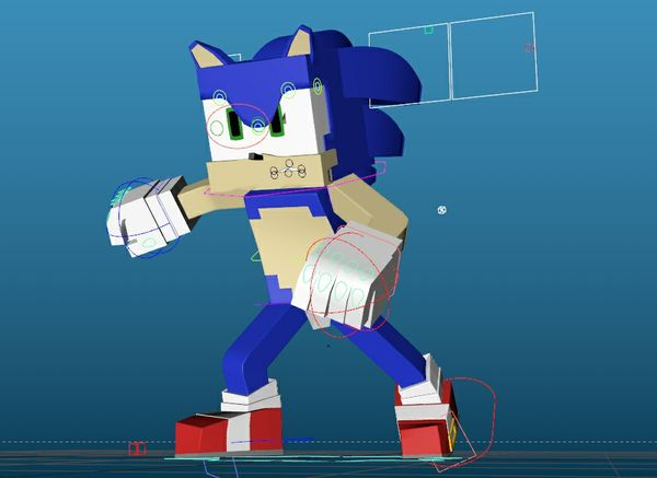 NEW Minecraft Sonic Rig