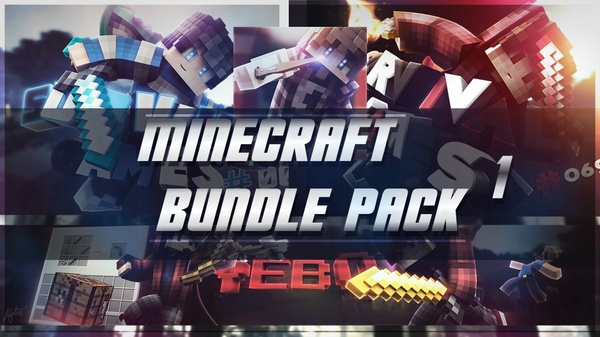 Minecraft Bundle Pack #1
