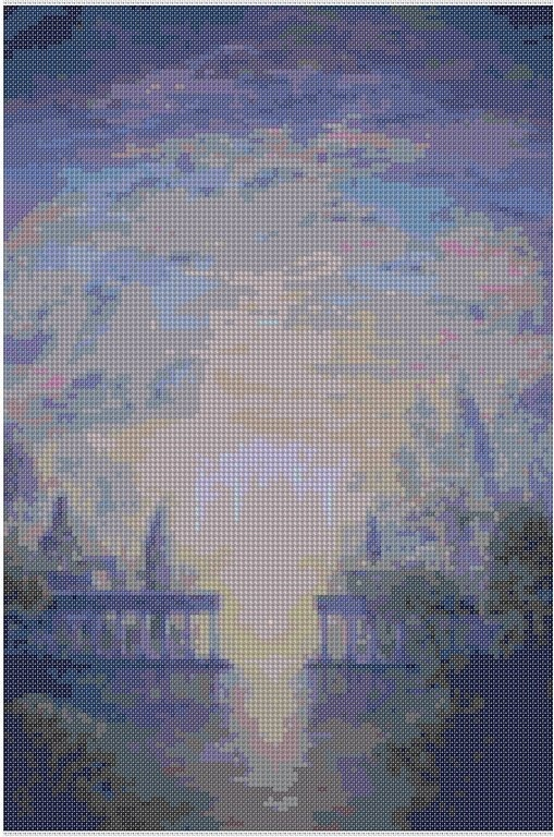 cross stitch pattern Mar-010c