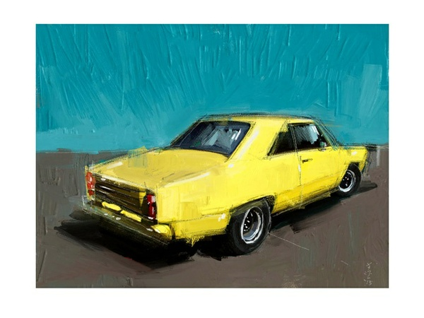 Yellow Datsun - FREE Download Now!
