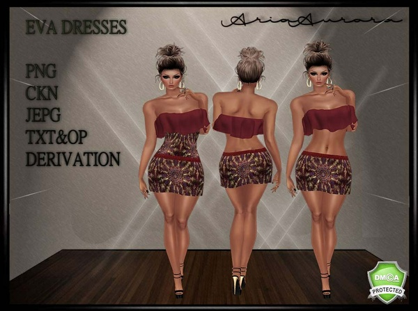 EVA DRESS,NO RESELL!!