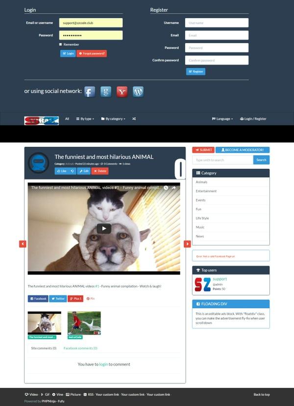 "szViral ""viral media website"""