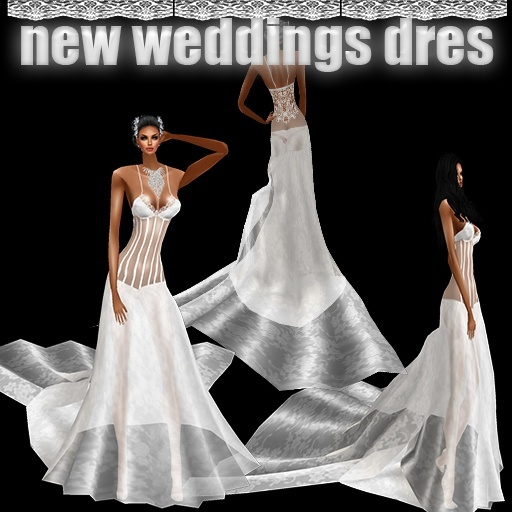 new dresses weddings 4 USD