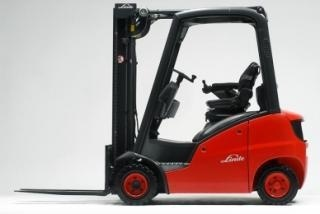 Linde LPG Forklift Truck 350 Series: H12, H16, H18 Operating Instructions (User Manual)