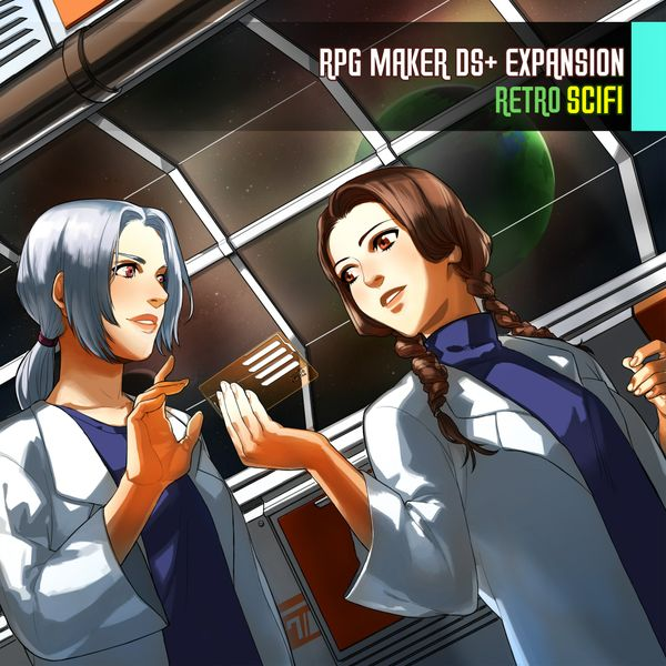 RPG Maker DS+ Expansion: Retro Scifi