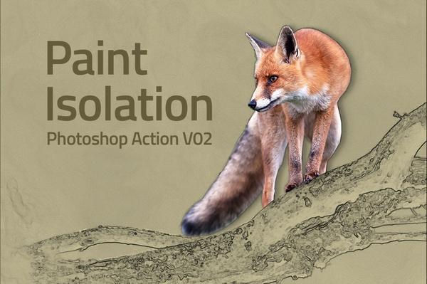 Paint Isolation Photoshop Action V02