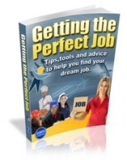 FREE eBook With Master Resell Rights - How To Get The Perfect Job