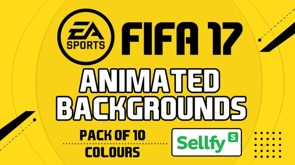 FIFA 17 - ANIMATED BACKGROUNDS - Pack 10 Colours