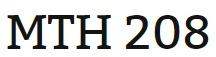 MTH 208 Week 3 MyMathLab Study Plan for Week 3 Checkpoint