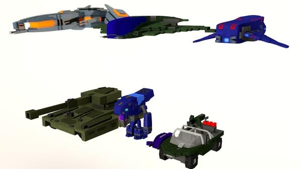 Halo 5 vehicle pack