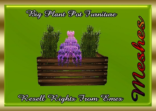 Big Plant Pot Furniture Catty Only!!!