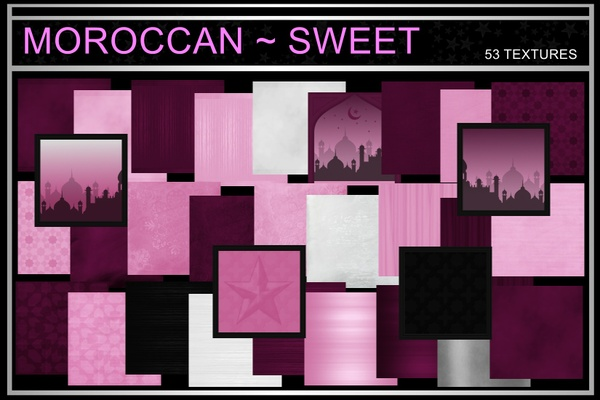 MOROCCAN ~ SWEET